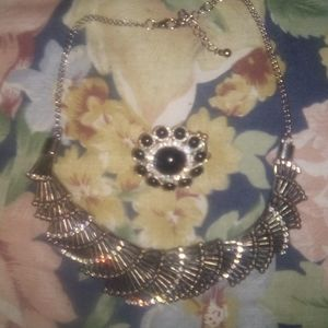 Vintage Necklace and Ring Combo